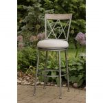 Indoor-Outdoor Swivel Bar Stool – Stewart