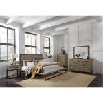 Industrial Modern Pine & Metal 6-Piece Queen Bedroom Set – Edgewood