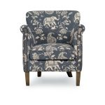 Isabelle Chambray Blue Accent Chair – Sophia