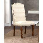 Ivory Upholstered Dining Chair – Bohemian Collection