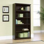 Jamocha 5-Shelf Bookcase
