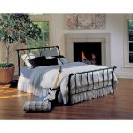 Janis Black Full Metal Bed