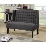 Katherine Anthracite Banquette