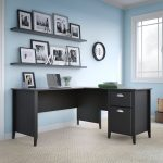 Kathy Ireland 60 Inch L-Desk – Connecticut