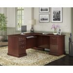 Kathy Ireland Cherry L-Desk – Bennington