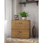 Kathy Ireland Golden Pine 2- Drawer Lateral File – Ironworks