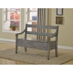 Kennedy Gray Storage Bench