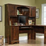 L Shaped Cherry Corner Desk – Harbor View