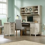 L Shaped Corner Computer Desk with Hutch – Costa