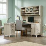 L Shaped Corner Computer Desk with Hutch – Costa