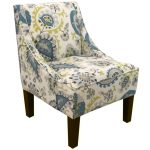 Ladbroke Peacock Swoop Arm Chair