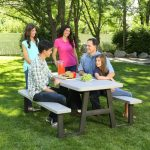 Lifetime Products 6′ A-Frame Folding Picnic Table