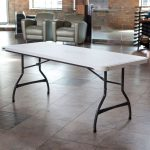 Lifetime Products 6 ft. White Folding Table