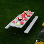 Lifetime Products 8 ft. Picnic Table (Putty)