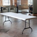 Lifetime Products 8 ft. White Banquet Table