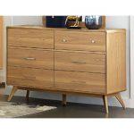 Light Ash Mid-Century Modern Dresser – Anika