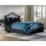 Linden Ebony Metal Twin Bed