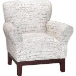 Linen Pattern Accent Chair – Aiden Collection