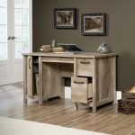 Lintel Oak Computer Desk – Cannery Bridge