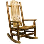 Log Rocking Chair – Glacier Country