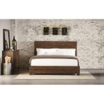Magnolia Home Furniture Brown King Size Bed – Framework