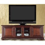Mahogany 60 Inch Low Profile TV Stand – Alexandria
