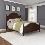 Mahogany Brown Queen Size Bed – Country Comfort