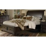 Mahogany Queen Storage Bed – Bayfield