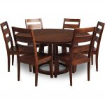 Mango 5-Piece 60 Inch Round Dining Set – Mendocino