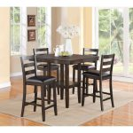 Mango 5-Piece Counter Height Dining Set – Tahoe