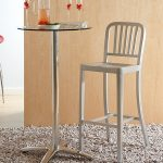 Matte Aluminum Bar Stool – Cafe