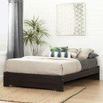 Matte Brown Queen Platform Bed (60 Inch) – Reevo