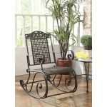Metal Outdoor Patio Rocking Chair – Ivy League
