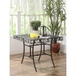 Metal Square Outdoor Patio Table – Ivy League