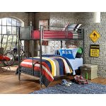 Metal Twin-over-Twin Bunk Bed – Urban Quarters