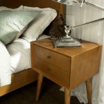 Mid-Century Modern Acorn Brown Nightstand – Landon