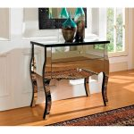 Mirrored 2 Drawer Console Table