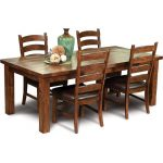 Mission 5-Piece Dining Set – Chambers Creek