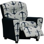 Mixy Anchors/Navy Kids Recliner