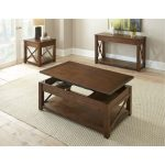 Mocha Brown Lift Top Coffee Table – Lenka