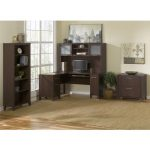 Mocha Cherry L-Desk (71 Inch) – Somerset