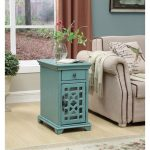 Modern Bayberry Blue End Table – Kevin