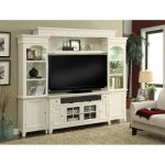 Modern Country Entertainment Wall with 62 Inch TV Stand – Tidewater