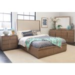 Modern Driftwood Gray 6-Piece King Bedroom Set – Melbourne