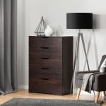 Modern Farmhouse Red-Brown Oak Chest of Drawers – Holland