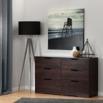 Modern Farmhouse Red-Brown Oak Dresser – Holland