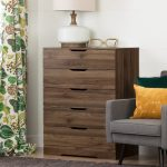 Modern Farmhouse Walnut Chest of Drawers – Holland