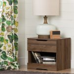 Modern Farmhouse Walnut Nightstand – Holland