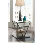 Modern Glass End Table – Arista