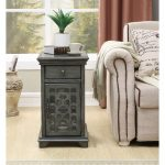 Modern Gray End Table – Kevin
